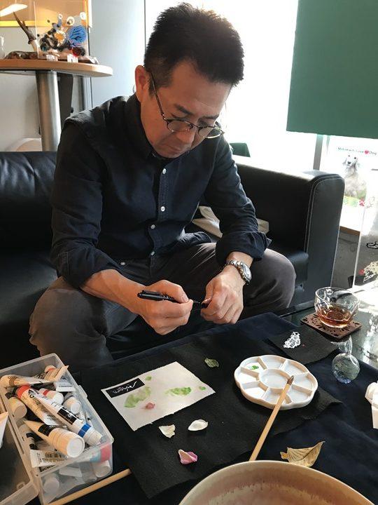 K. Ashino先生の写真