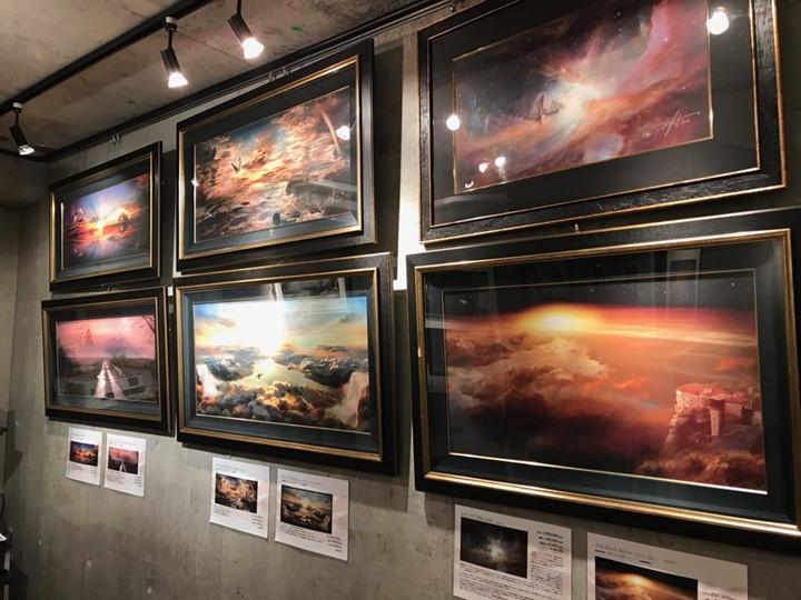 ウレ・リトゲン「THE LATEST RELEASE 2019」展のギャラリーの様子