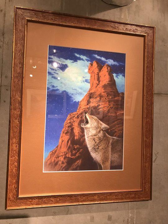 「内藤貞夫先生による「悠久の大地―祈り」作品写真