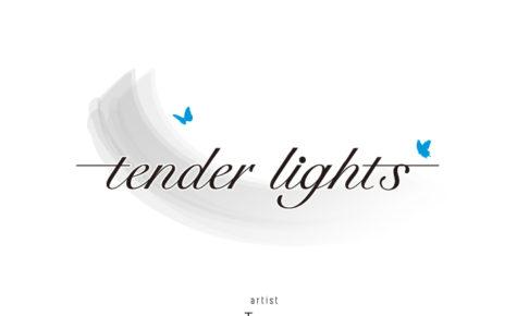 企画展「tender lights」のはがき写真