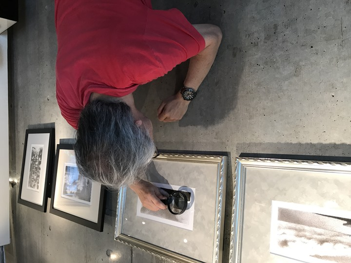 フジムラコンテンポラリーアートで開始中のTone展の様子