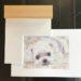【ペット肖像画 作品例】色鉛筆画1:チワマル
