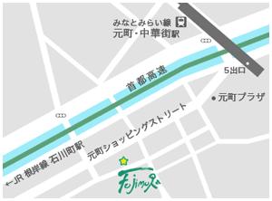 FUJIMURA CONTEMPORARY ART.アクセスマップ